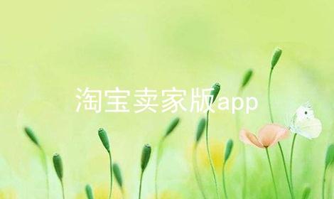 淘宝卖家版app