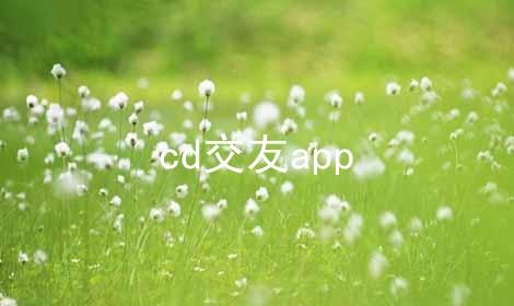 cd交友app