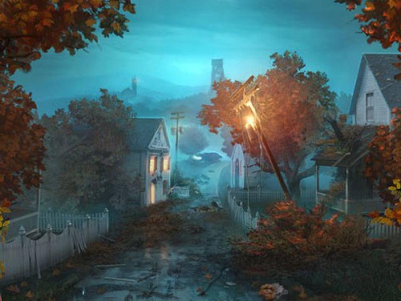 谜之枫叶溪的幽灵 英文版下载
