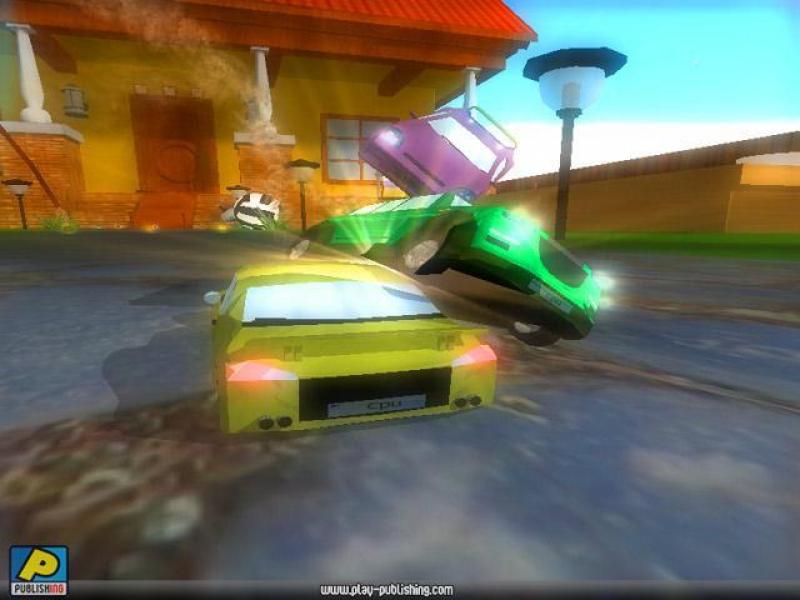 微型疯狂赛车 英文版下载