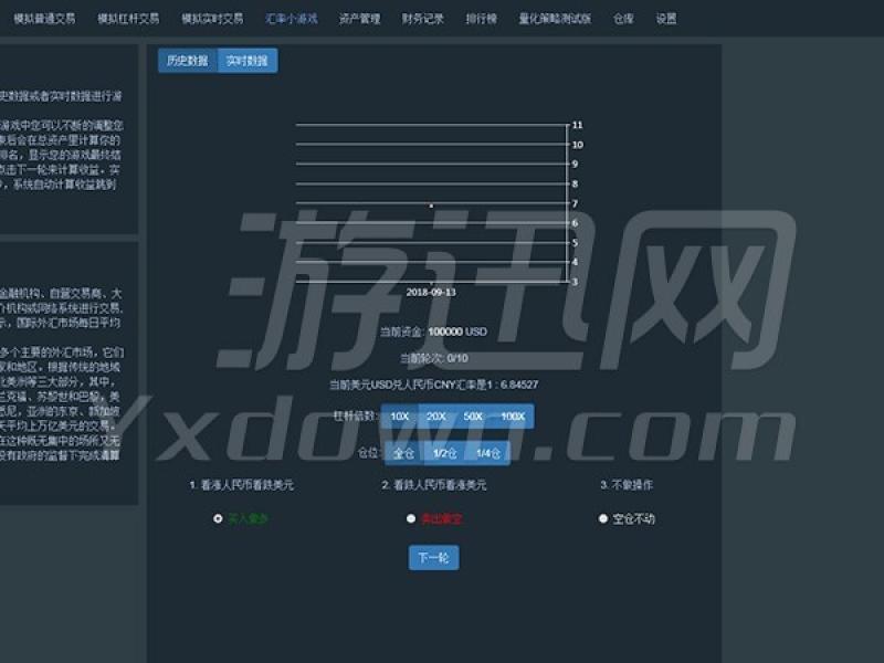 外币交易模拟 中文版下载