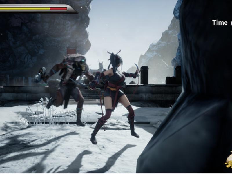 双刃:女忍者之战 英文版下载