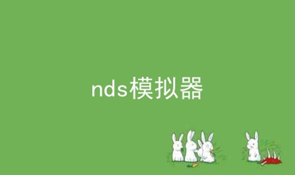 nds模拟器