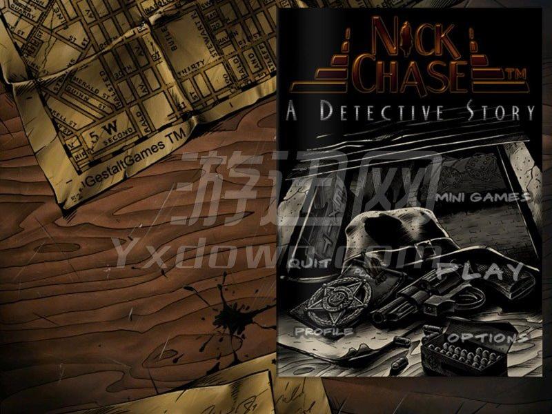 恶魔追踪:侦探故事 英文版下载