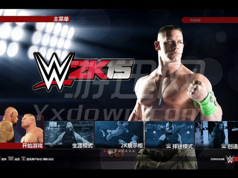 WWE 2K15 PC中文版下载