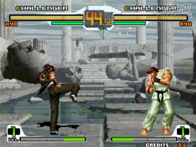 拳皇VS街霸:乱舞千年 加强版下载