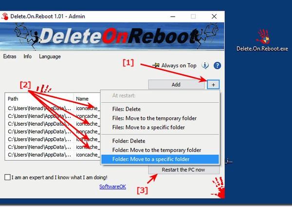Delete.On.Reboot(重启时删除无用文件工具)下载