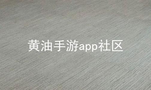 黄油手游app社区