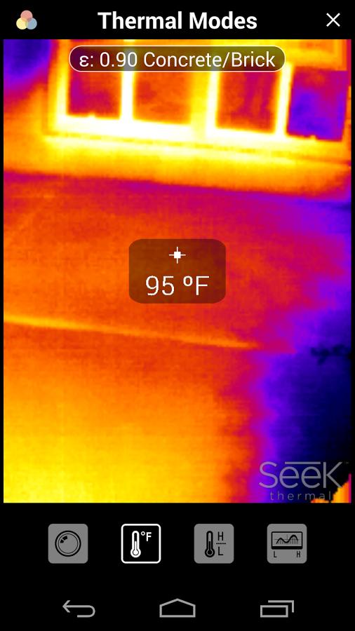 Seek Thermal app