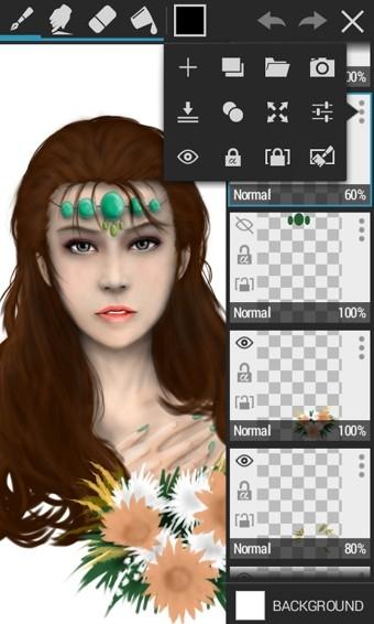 绘图工具(ArtFlow Tablet Sketchbook)软件截图0