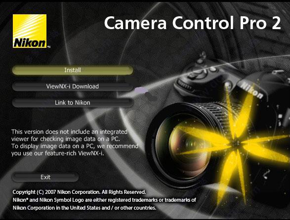 Camera Control Pro 2(尼康相机远程控制软件)下载