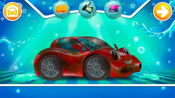 苏菲亚公主洗车
