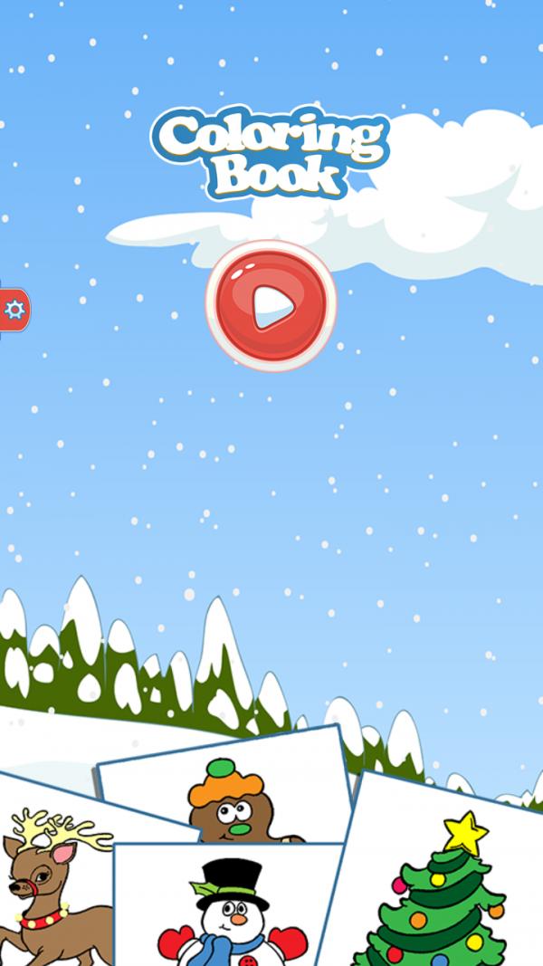宝宝爱涂色圣诞节篇软件截图0