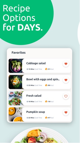 Vegetarian Meal Plans软件截图2