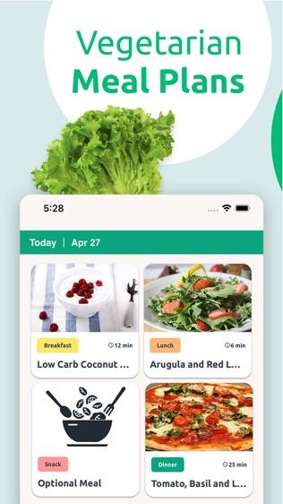 Vegetarian Meal Plans软件截图0