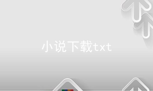 小说下载txt
