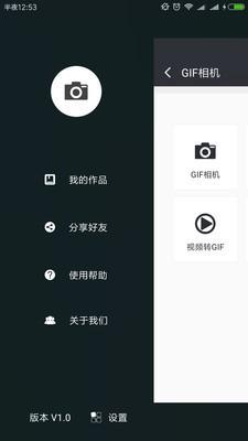 艺术GIF相机软件截图0
