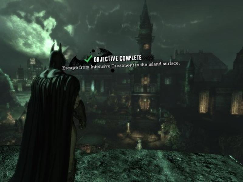 蝙蝠侠:阿卡姆疯人院 中文版下载