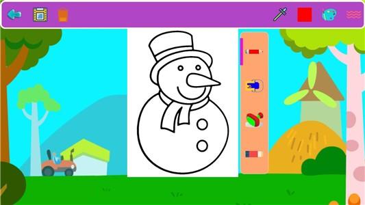 宝宝涂色世界HD软件截图0