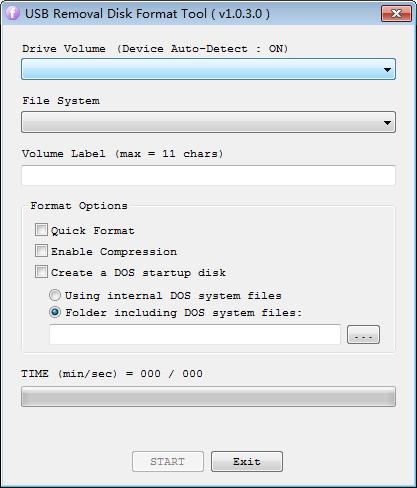 USB Removal Disk Format Tool(格式化修复U盘)下载
