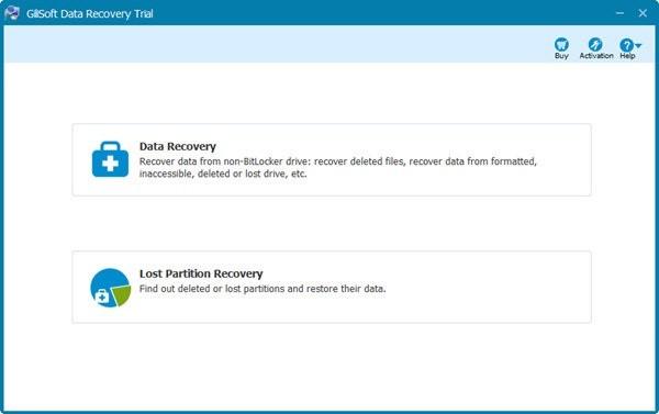 Gilisoft Data Recovery(数据恢复软件)下载