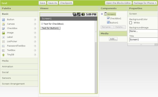 AppInventor汉化测试版下载