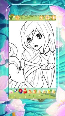 美少女涂色画软件截图0