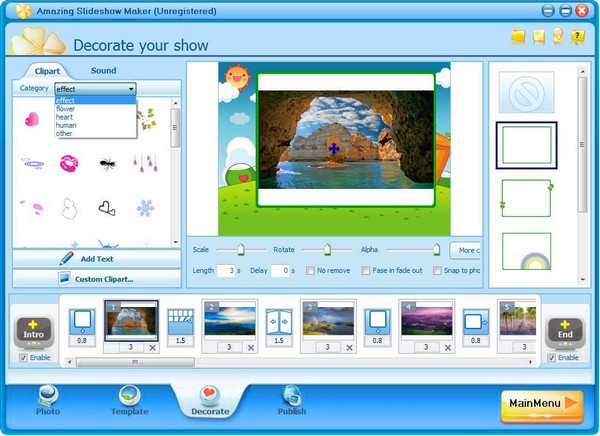 Amazing Slideshow Maker(幻灯片制作软件)下载