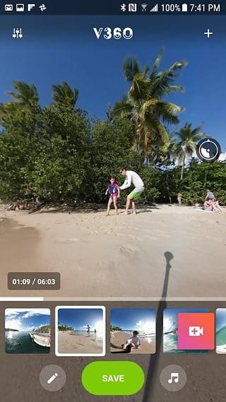 全景视频制作软件截图1