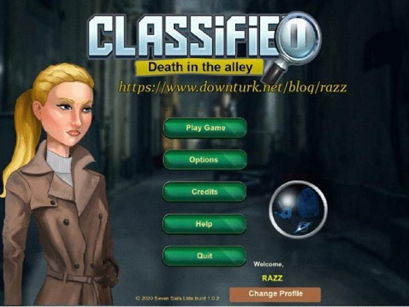 机密:小巷里的死亡 英文版下载