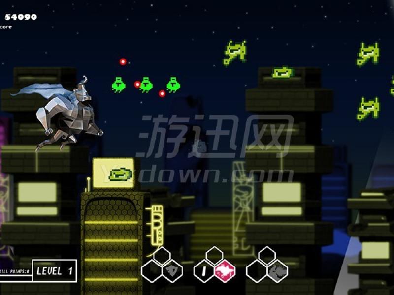 超级队长vs像素入侵者 英文版下载