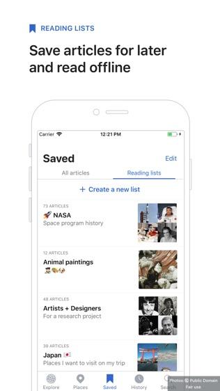 Wikipedia Mobile软件截图2