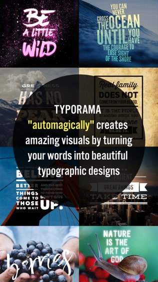 Typorama: Text on Photo Editor软件截图0