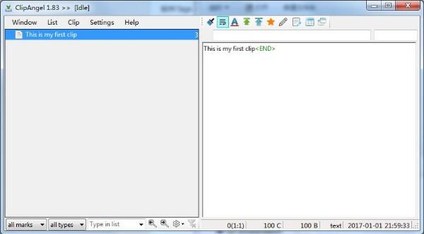 ClipAngel(剪贴板管理工具)下载