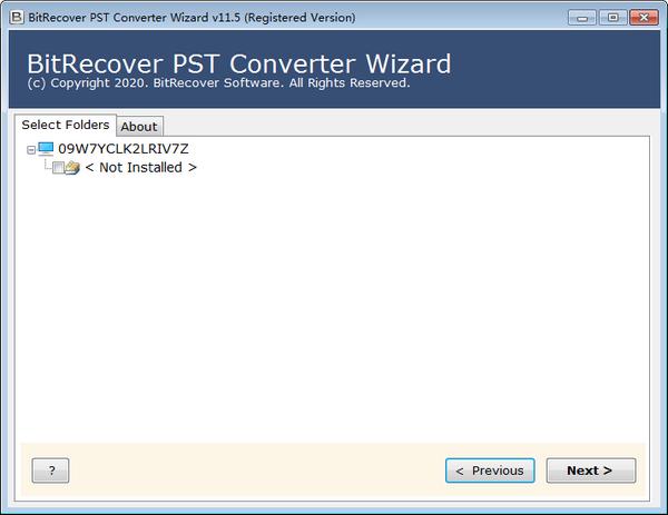 PST格式转换器(BitRecover PST Converter Wizard)下载