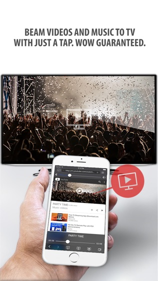 Tubio—将网络视频投影到电视上软件截图0