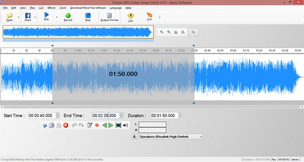Simple MP3 Cutter Joiner Editor(MP3分割合并工具)