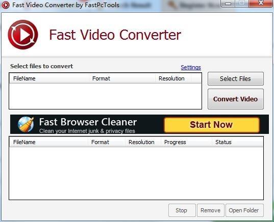 Fast Video Converter(视频格式转换软件)