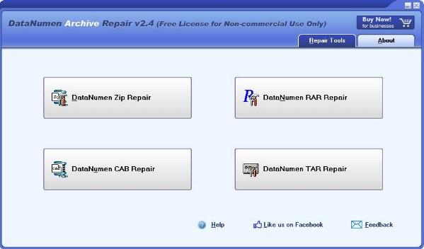 DataNumen Archive Repair(压缩文件修复软件)