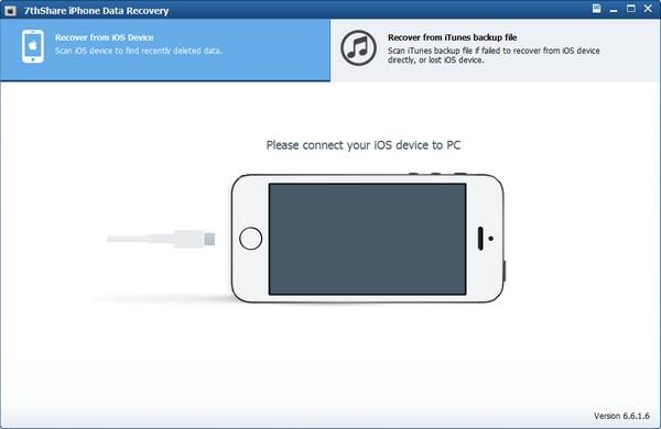 7thShare iPhone Data Recovery(苹果数据恢复软件)