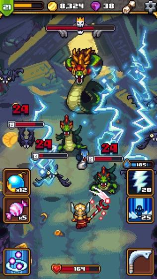 Dash Quest Heroes软件截图0
