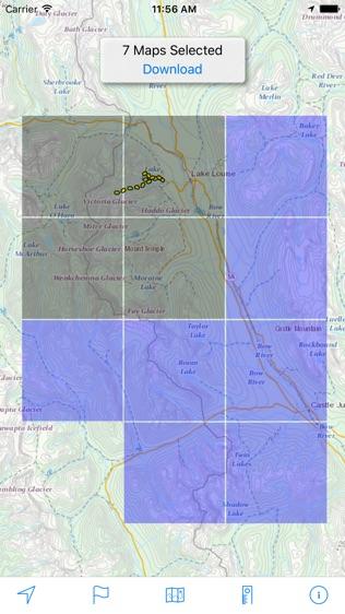 Topographic Maps Canada软件截图2