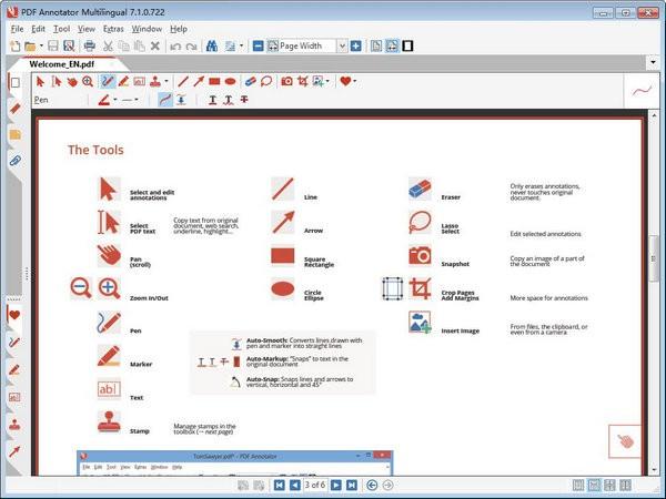 PDF Annotator Multilingual(PDF编辑工具)