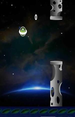 太空中跳跃