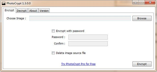 照片加密软件(PhotoCrypt)