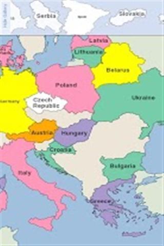 欧洲地图拼图软件截图0