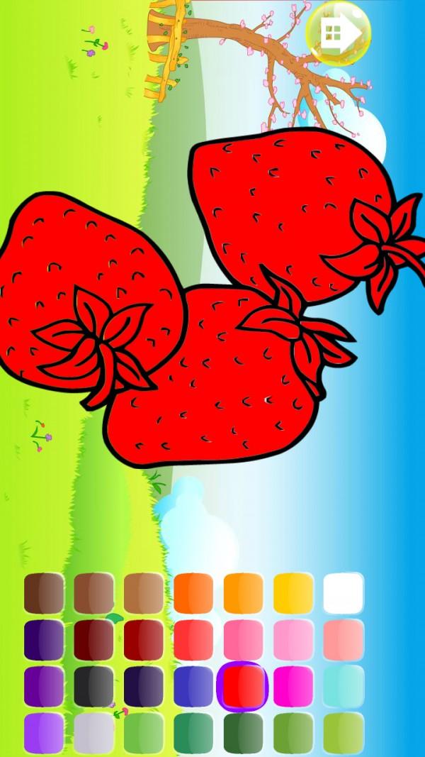 巧虎填色植物篇软件截图0