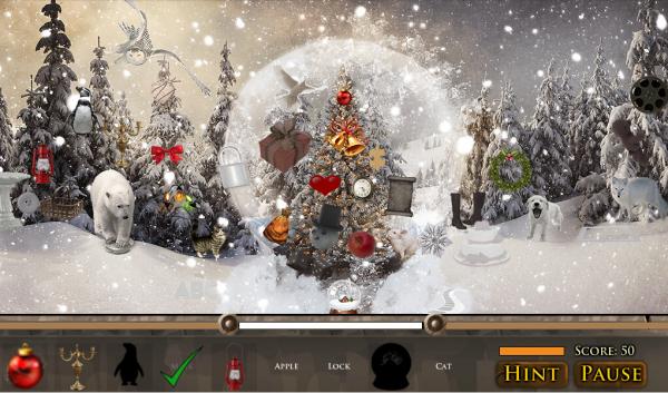 隐藏的物品魔幻圣诞软件截图3
