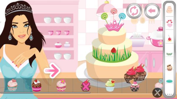 制作梦幻蛋糕软件截图3