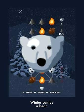 冬季北极熊软件截图2